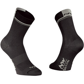 Northwave Logo 2 Cycling Socks grey/black